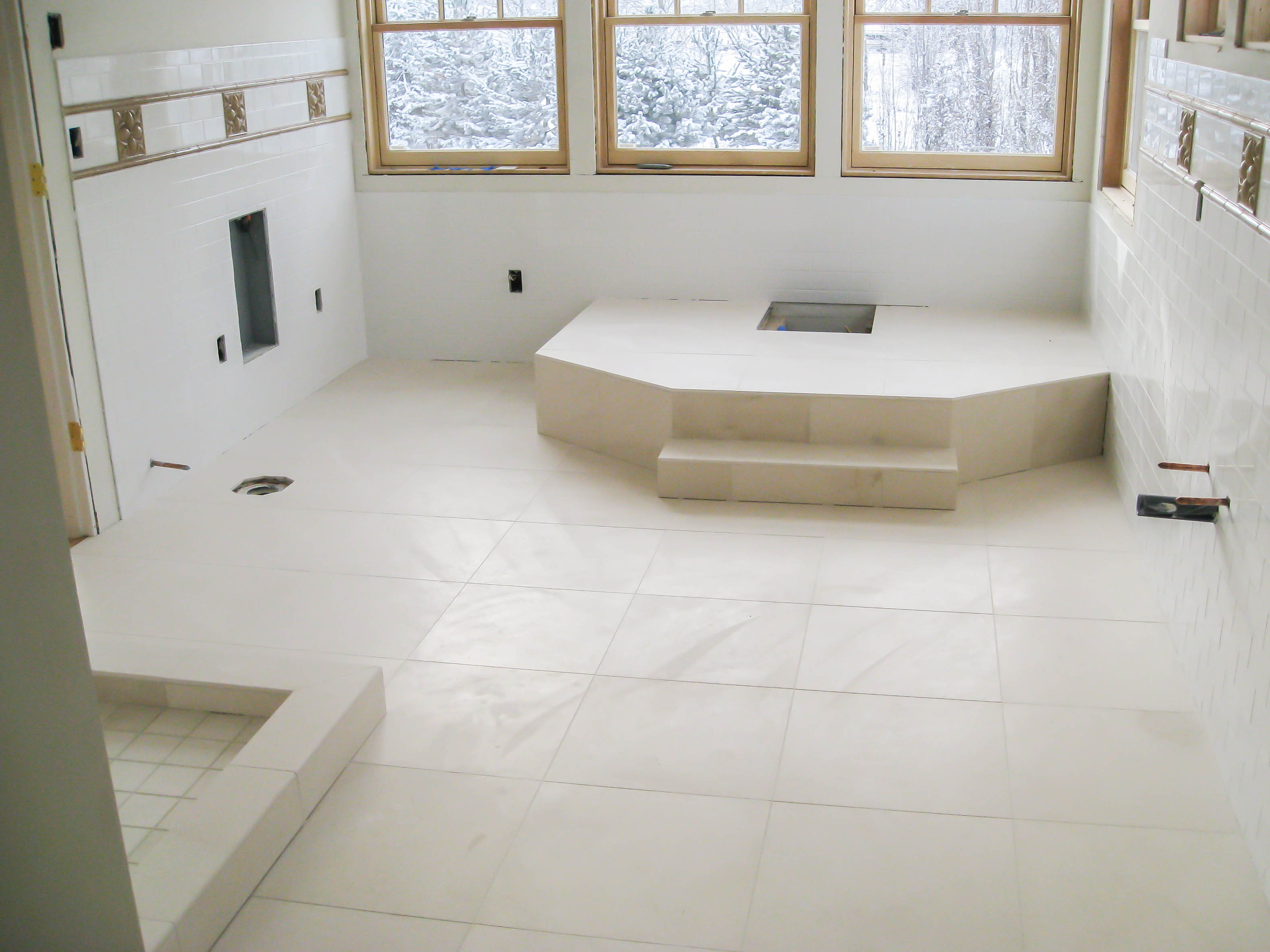 Bathroom Floors - Seattle Tile Contractor | IRC Tile Services | title