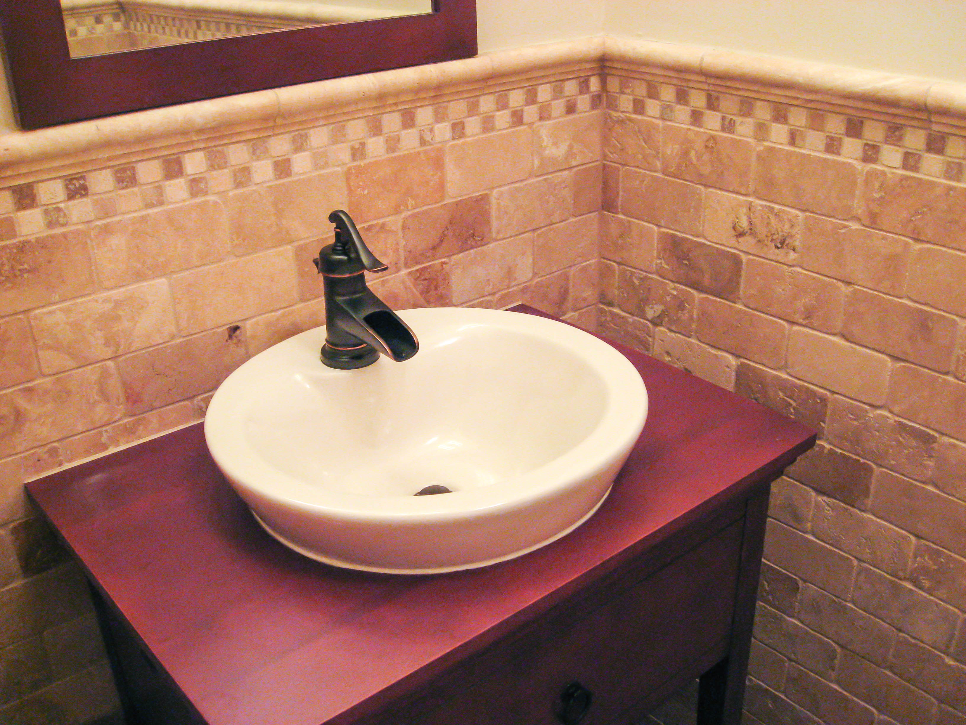 Bathroom Wainscoting Gallery - Tile Contractor | IRC Tiles Services