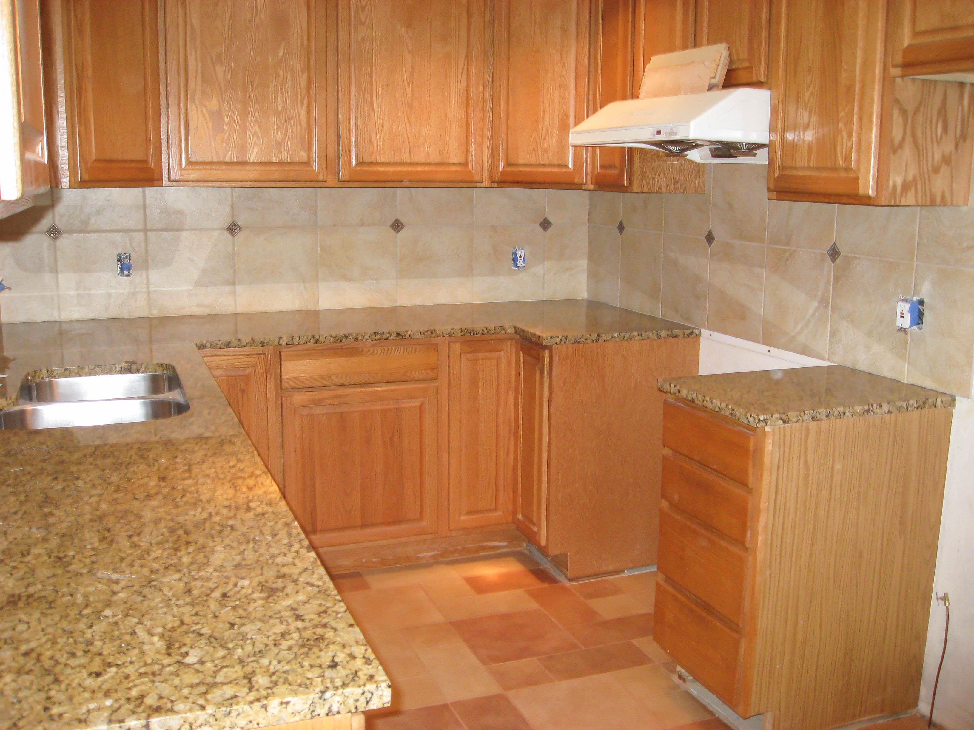 Kitchen Backsplash 4a After